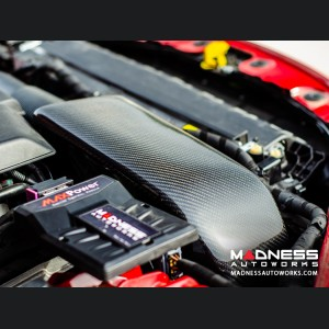 Alfa Romeo Giulia Cold Air Intake - MAXFlow Carbon Fiber Intake System w/ BMC Twin Air Conical Filter
