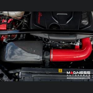 Alfa Romeo Giulia MAXFlow Air Intake Upgrade Kit - 2.0L - Red Silicone