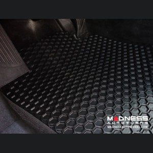 Alfa Romeo Giulia Floor Mat Set - All Weather Rubber Front 2 Piece Set - Black (Q4/AWD Model)