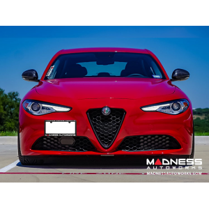 Alfa Romeo Giulia License Plate Mount - Adjustable