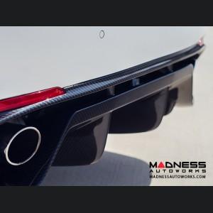 Alfa Romeo Giulia Rear Diffuser - Quadrifoglio - Carbon Fiber
