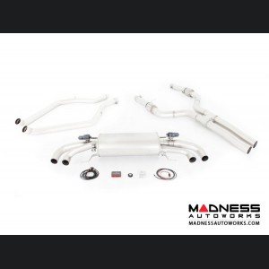 Alfa Romeo Giulia Performance Exhaust - 2.9L QV - REMUS - Cat Back w/ REMUS Sound Controller - Polished Straight Cut Tips
