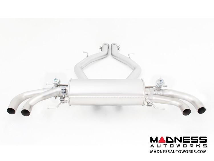 Alfa Romeo Giulia Performance Exhaust - 2.9L QV - REMUS - Axle Back - Polished Straight Cut Tips