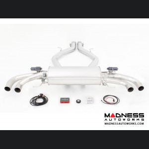 Alfa Romeo Giulia Performance Exhaust - 2.9L QV - REMUS - Axle Back w/ REMUS Sound Controller - Polished Straight Cut Tips