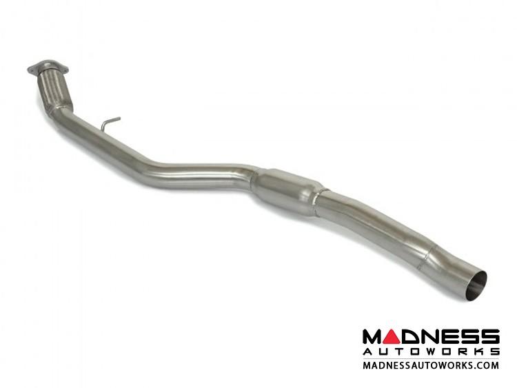 Alfa Romeo Giulia Performance Exhaust - 2.0L - Ragazzon - Center Section - Resonated