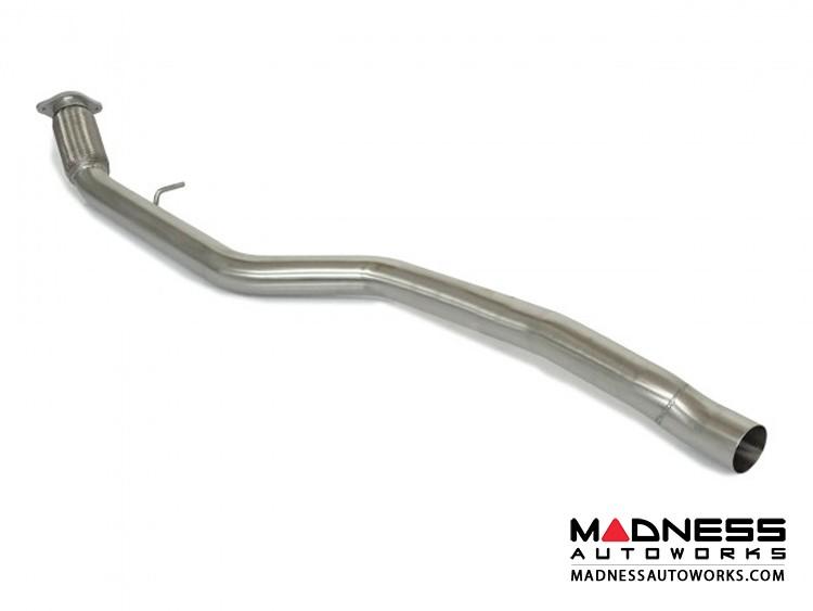 Alfa Romeo Giulia Performance Exhaust - 2.0L - Ragazzon - Center Section - Straight Pipe