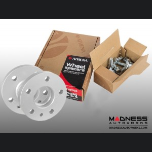Alfa Romeo Stelvio Wheel Spacers by Athena - 15mm (set of 2 w/ extended bolts)