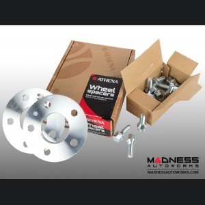 Alfa Romeo Giulia Wheel Spacers by Athena - 5mm (set of 2 w/ extended bolts)
