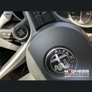 Alfa Romeo Giulia Start/ Stop Button - Genuine Part - Black