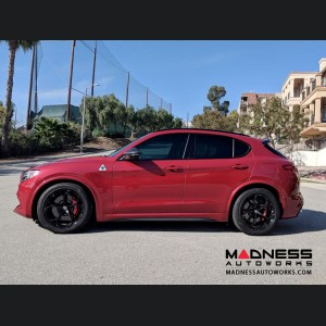 Alfa Romeo Stelvio Lowering Springs by MADNESS - Sport - Quadrifoglio Model