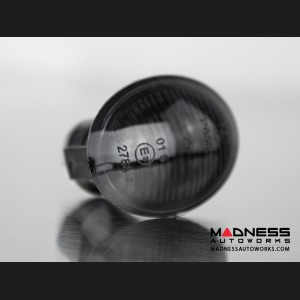 Alfa Romeo 4C Front Side Blinker Lights (2) - Crystal Black Finish
