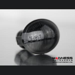 Maserati GranTurismo Front Side Blinker Lights (2) - Crystal Black Finish