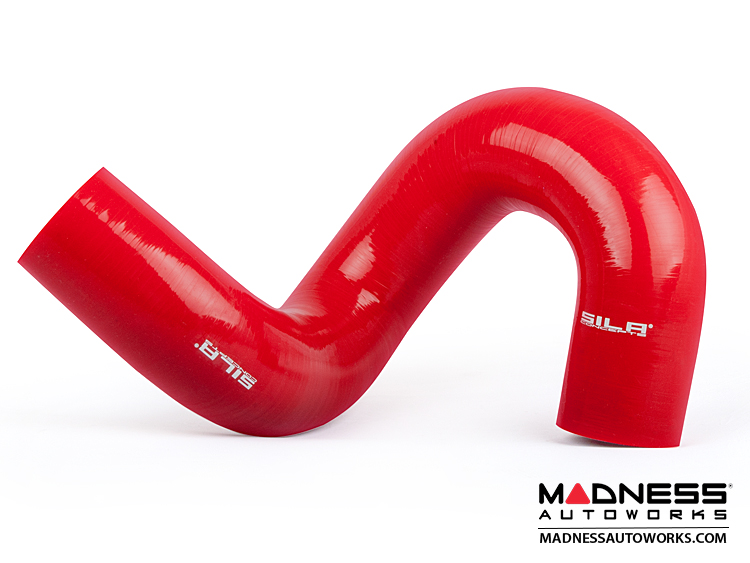Alfa Romeo 4C Boost Pressure Hose by SILA Concepts - Red