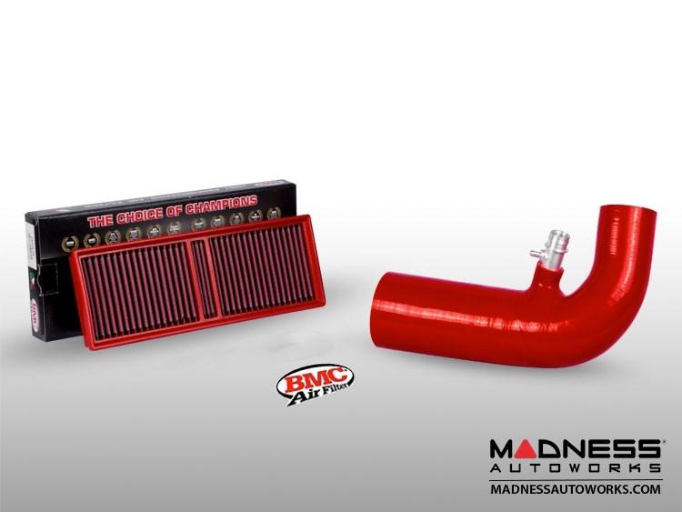 Alfa Romeo Giulia MAXFlow Air Intake Upgrade Kit w/ BMC Filter - Red Silicone