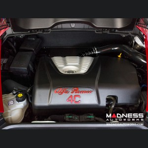 Alfa Romeo 4C Exhaust Manifold Cooling Hose - Black