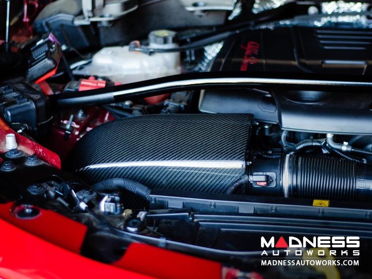 Alfa Romeo Stelvio Cold Air Intake - 2.0L - MAXFlow Carbon Fiber Intake System w/ BMC Twin Air Connical Filter