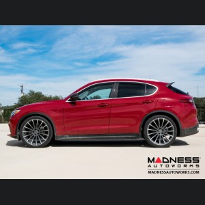 Alfa Romeo Stelvio Lowering Springs by MADNESS - Sport Plus