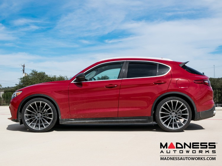 Alfa Romeo Stelvio Lowering Springs - 2.0L Sport Plus by MADNESS