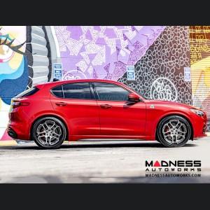 Alfa Romeo Stelvio Lowering Springs by MADNESS - Sport Plus - Quadrifoglio Model