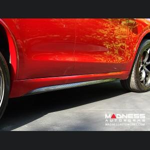 Alfa Romeo Stelvio Quadrifoglio Side Skirt Trim Kit - Carbon Fiber