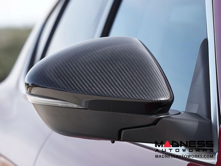 Alfa Romeo Stelvio Mirror Covers - Carbon Fiber