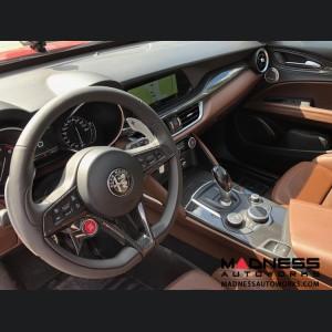 Alfa Romeo Stelvio Complete Interior Trim Kit - Carbon Fiber