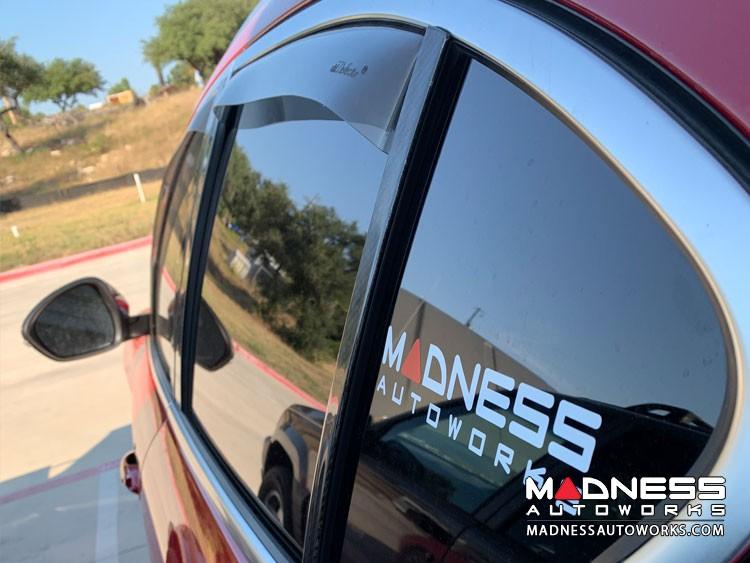 Alfa Romeo Stelvio Side Window Air Deflectors - Front/ Rear 4 Piece Set - Gelly
