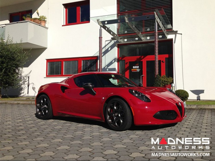 alfa romeo 4c coilover kit by bilstein b16 pss10 adjustable madness autoworks auto parts. Black Bedroom Furniture Sets. Home Design Ideas