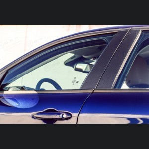 Alfa Romeo Giulia Exterior Door Pillars - Carbon Fiber