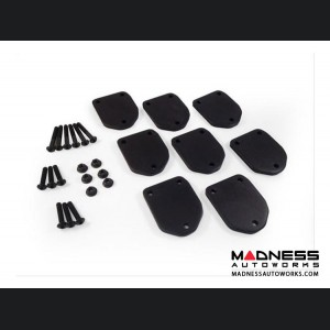 All BEDXTENDER HD Tonneau Cover Spacer Kit by AMP Research - Black