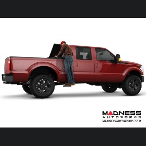 GMC Sierra BedStep2 Box Side Steps by AMP Research - Black
