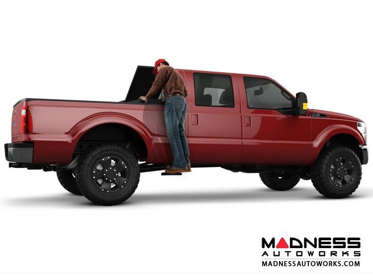 Chevrolet Silverado BedStep2 Box Side Steps by AMP Research - Black