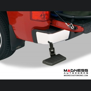 Chevrolet Silverado BedStep Bumper Steps by AMP Research