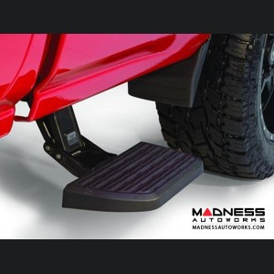 Chevrolet Silverado BedStep2 Bumper Steps by AMP Research - Black