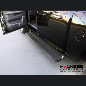 GMC Sierra HD Diesel Power Step by AMP Research - w/ Lighting Kit - Crew Cab