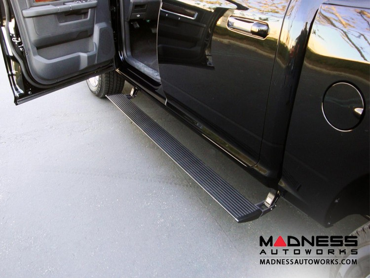 GMC Sierra HD Diesel Power Step by AMP Research - w/ Lighting Kit - Crew Cab