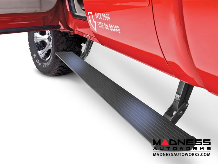 Ford Super Duty F 250/ 350/ 450 Power Step by AMP Research - Crew Cab (02-03 and 08-15) - Black