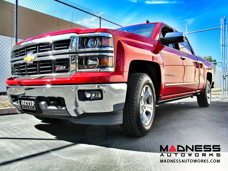 Chevrolet Silverado Step By Amp Research Madness Autoworks Auto Parts And Accessories