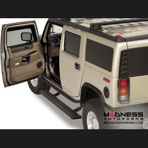 Hummer H2 Power Step by AMP Research - Black