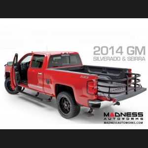 GMC Sierra Double/ Crew Cab 1500 BedStep Bumper Steps by AMP Research
