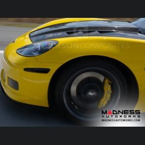 Chevrolet Corvette Carbon Fiber Hood - Anderson Composites - C6 - Type TS