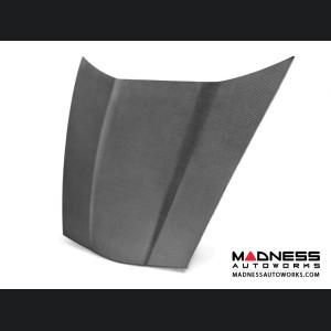 Chevrolet Corvette Carbon Fiber Hood - Anderson Composites - C6 - OEM Style
