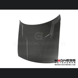 Dodge Challenger Hood by Anderson Composites- Carbon Fiber