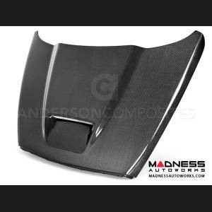 Dodge Ram SRT 10 Hood by Anderson Composites - Carbon Fiber