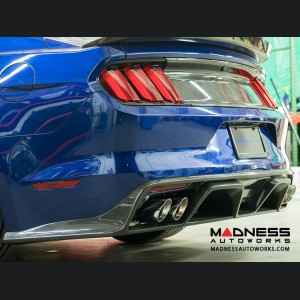 Ford Mustang Type GR Rear Diffuser/ Valence by Anderson Composites - Carbon Fiber - GT350R Style