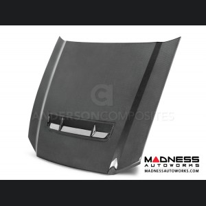 Ford Mustang Shelby GT500 GT Style Hood by Anderson Composites - Carbon Fiber
