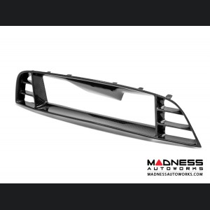 Ford Mustang Shelby GT500 Front Upper Grille by Anderson Composites - Carbon Fiber - Without Cobra Emblem