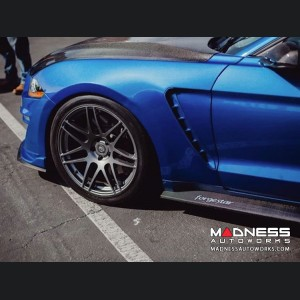 Ford Mustang Front Fenders - Anderson Composites - Fiberglass Set - Type-ST