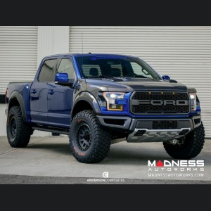 Ford Raptor Carbon Fiber Hood Vent - OE Style - Gloss by Anderson Composites