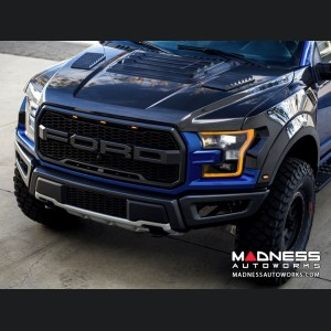 Ford Raptor Carbon Fiber Hood - OE Style - Gloss by Anderson Composites